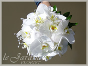 Bride Bouquet with Orchids