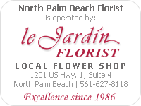 Le Jardin Florist | Local Flower Shop since 1986.